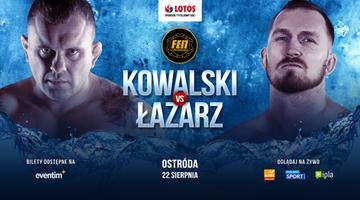 FEN 29: Adam Kowalski zmierzy się z Marcinem Łazarzem o pas wagi półciężkiej!