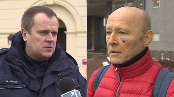 Policja o bójce z udziałem Pieczyńskiego: nic nie wskazuje, że było to działanie zaplanowane