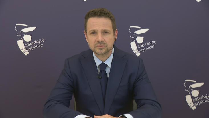 Trzaskowski: Hołownia szedł do polityki, by ją zmieniać. To polityka zmienia jego