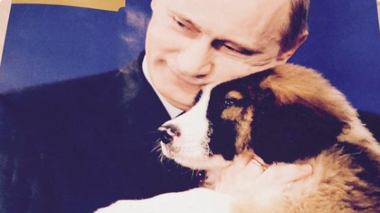 """""""Cały rok z Władimirem Putinem"""". Na rybach, z pieskiem, z kwiatkami"""