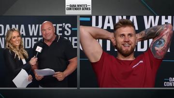 Łukasz Brzeski pokonał przed czasem Dylana Pottera i wywalczył kontrakt z UFC!