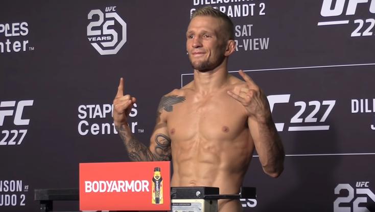 UFC 227: Dillashaw, Garbrandt, Johnson i Cejudo w limicie. Wyniki ważenia
