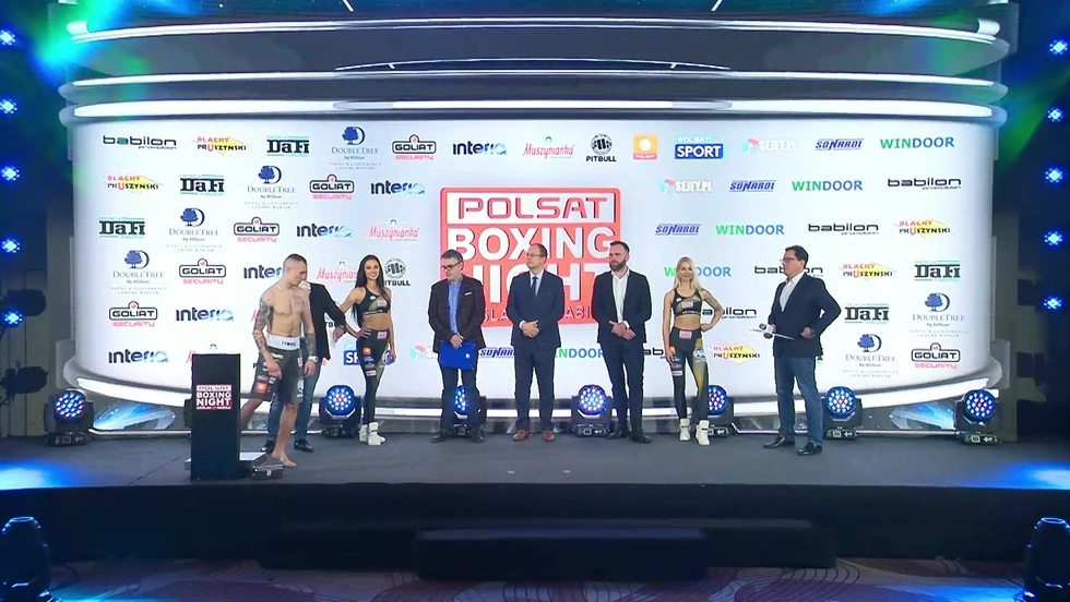 Polsat Boxing Night 9 - Ceremonia ważenia
