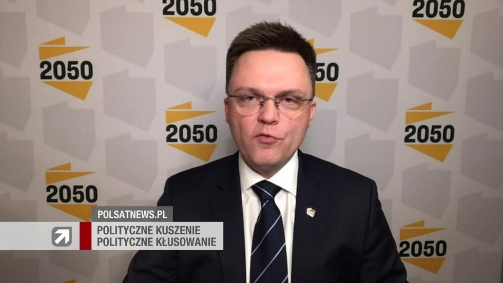 Gość Wydarzeń - Szymon Hołownia