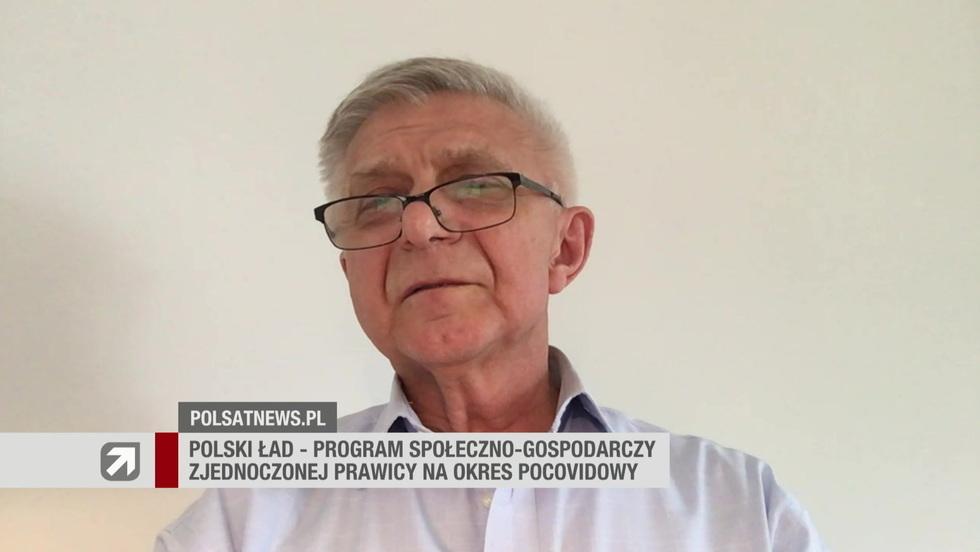 Gość Wydarzeń - prof. Marek Belka