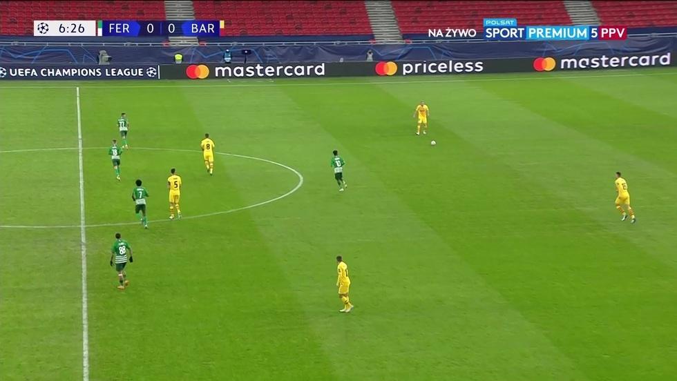 Ferencvaros Budapeszt - FC Barcelona
