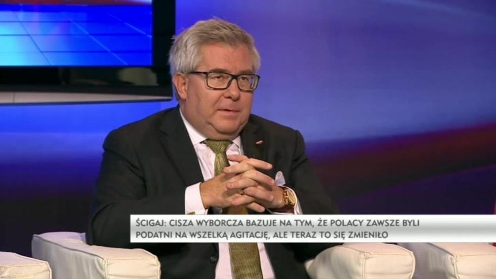 Salon Polityczny - Agnieszka Ścigaj, Julia Pitera, Ryszard Czarnecki