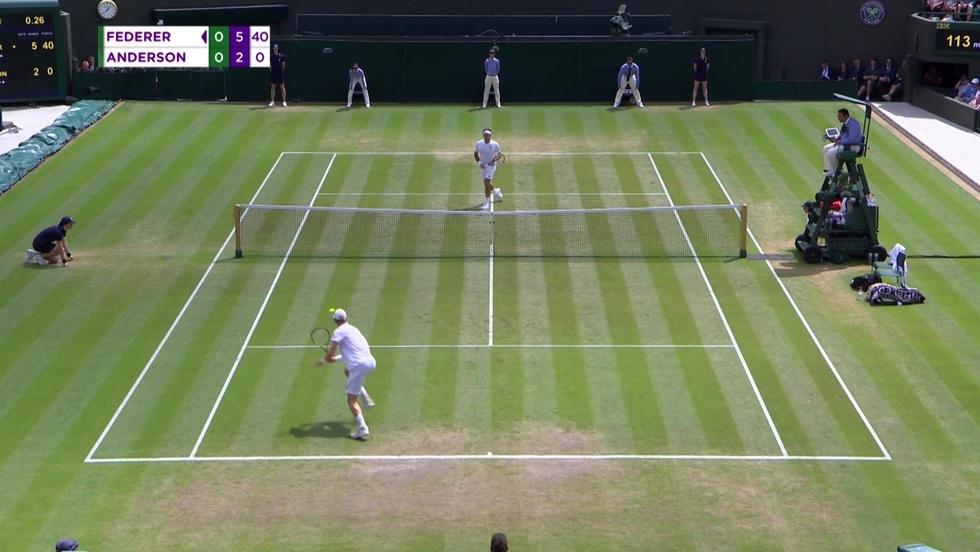 Roger Federer - Kevin Anderson